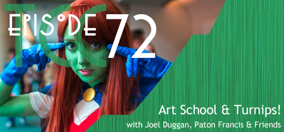 The Citadel Cafe 072: Art School And Turnips