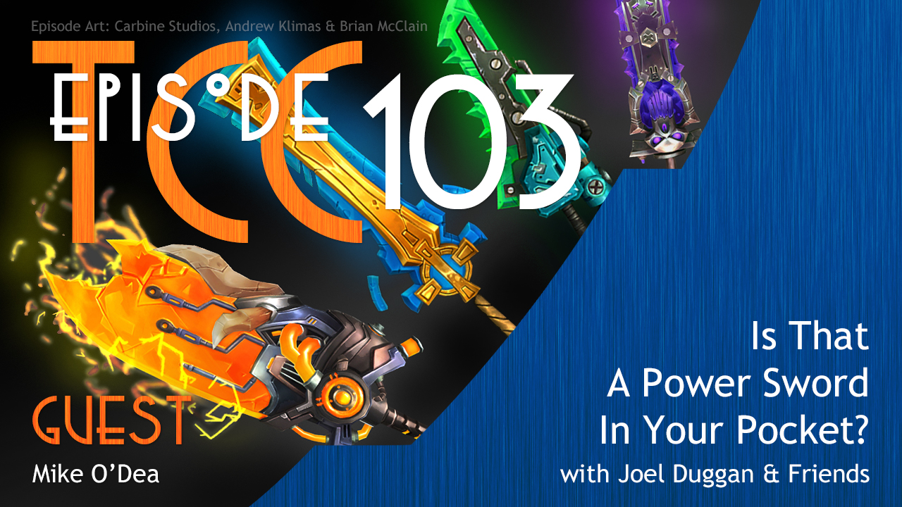 The Citadel Cafe 103: Is That a Power Sword in Your Pocket?