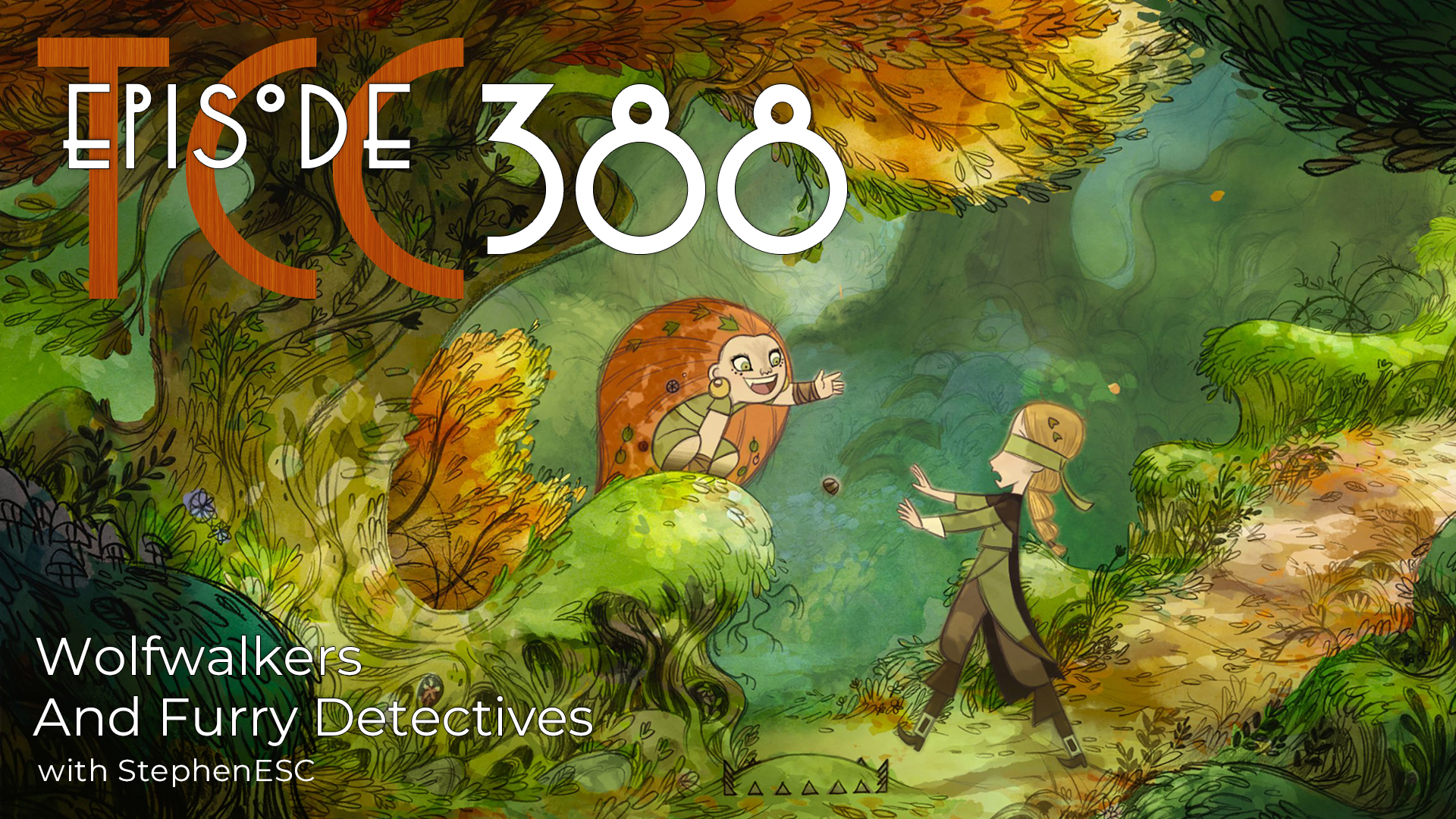 The Citadel Cafe 388: Wolfwalkers And Furry Detectives